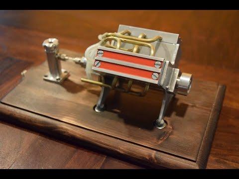 V6 Engine Miniature (DIY Engine)