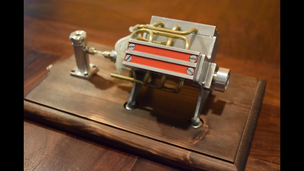 V6 engine miniature diy engine youtube v6 engine miniature diy engine solutioingenieria Choice Image
