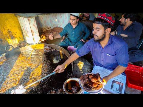 Pakistan's #1 CHAPLI KEBAB - Ultimate Pakistani Street Food in Peshawar! QASIM & JALIL CHAPLI KABAB