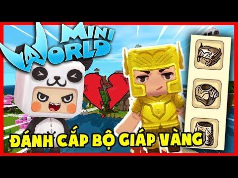 Mini World Block Art : HIHA VÀ KAIRON CẮT �ỨT TÌNH BẠN VÌ BỘ GI�P!