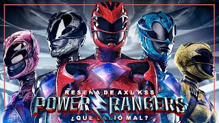 POWER RANGERS: ¿Qué salió mal? - Review