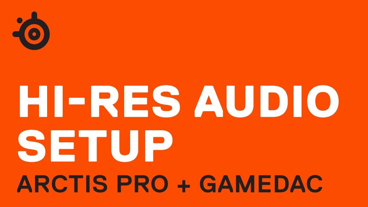 Arctis Pro + GameDAC Hi-Res Audio Setup