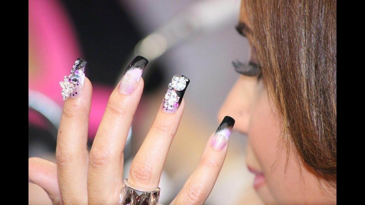 Nail Courses -Manicure,Pedicure,Nail-Art,Acrylic,Gel - YouTube