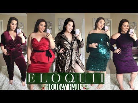 ELOQUII Holiday Try-On Haul |Plus Size Fashion|