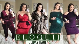 ELOQUII Holiday Try-On Haul |Plus Size Fashion|