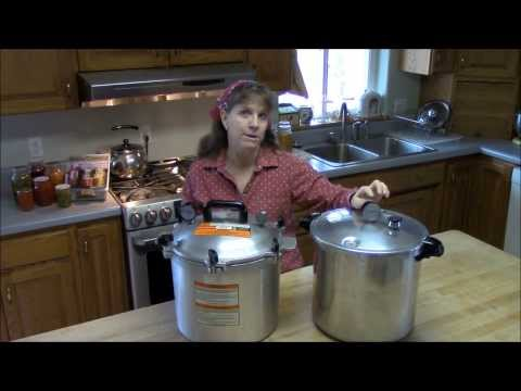 Pressure Canner Review By Simply Canning. Presto Vs The All American