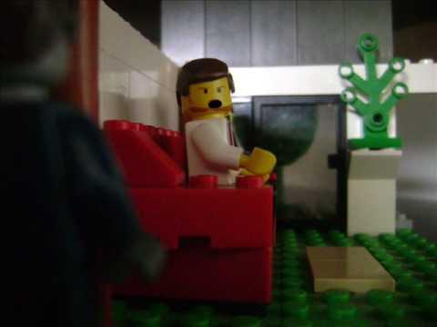 Shaun of the Dead lego trailer