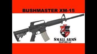 "Bushmaster XM-15 Standard -16"" A2 Patrolman's Carbine"