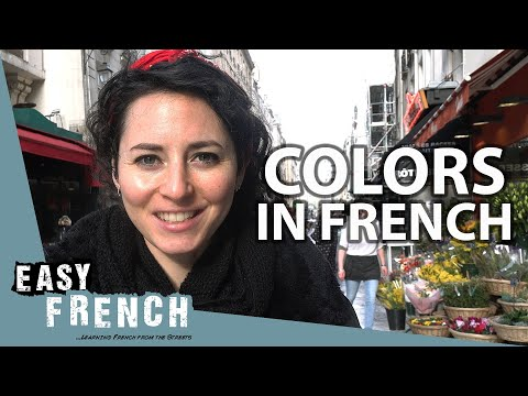 Colors In French!   Super Easy French 88