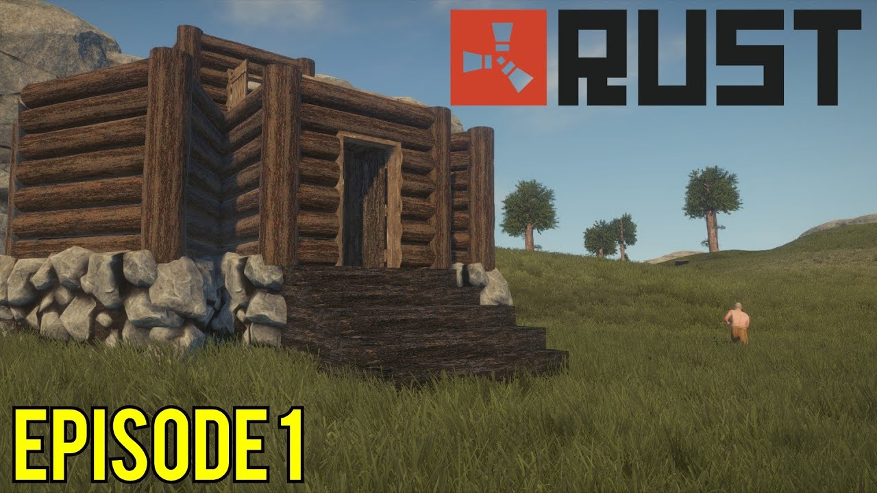 Rust Construction De Mon Camp Episode 1 Fr Youtube