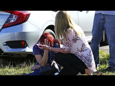 Audio reveals moments after gunman opened fire at Stoneman Douglas