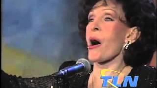 """Dottie Rambo sings """"He Looked Beyond My Faults"""" on TLN"""