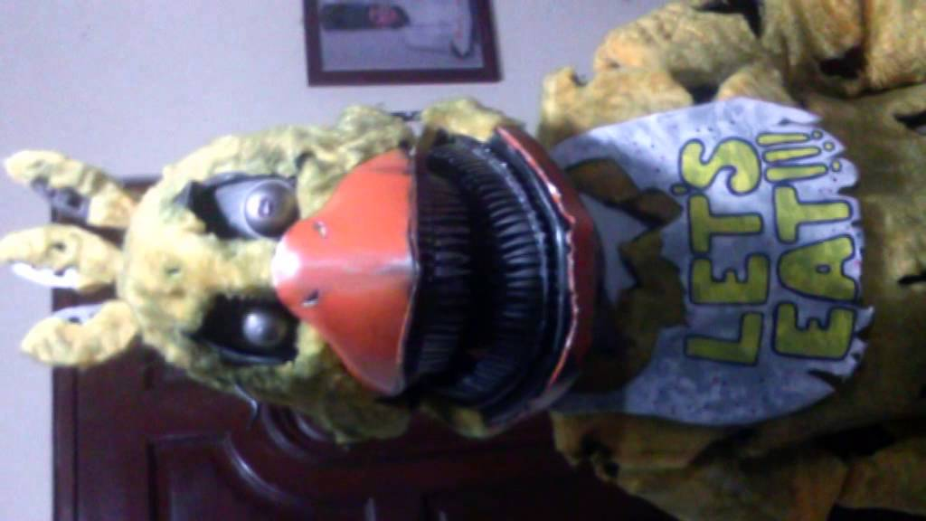 five nights at freddys 4 nightmare chica costume