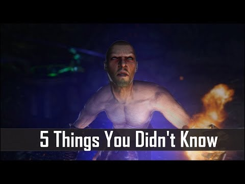 Skyrim: 5 Things You Probably  Didn't Know You Could Do - The Elder Scrolls 5: Secrets