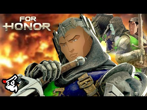For Honor - Black Prior Cannot Be Stopped |