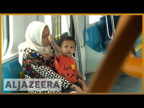 🇮🇩 Indonesia opens new train system in Jakarta | Al Jazeera English