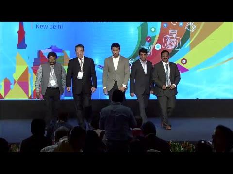 Presentation of the World Television Award 2018 by Col. Rajyavardhan Singh Rathore