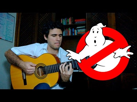 Ghostbusters Theme Song  Fingerstyle Guitar Marcos Kaiser #18