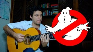 Ghostbusters Theme Song - Fingerstyle Guitar (Marcos Kaiser) #18