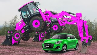 10 Funny JCB and Dancing Excavators Dancing Diggers   Must Watch New Funny Video 2021