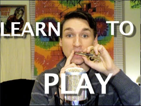 How To Play The Jaw Harp Jews Harp Tutorial