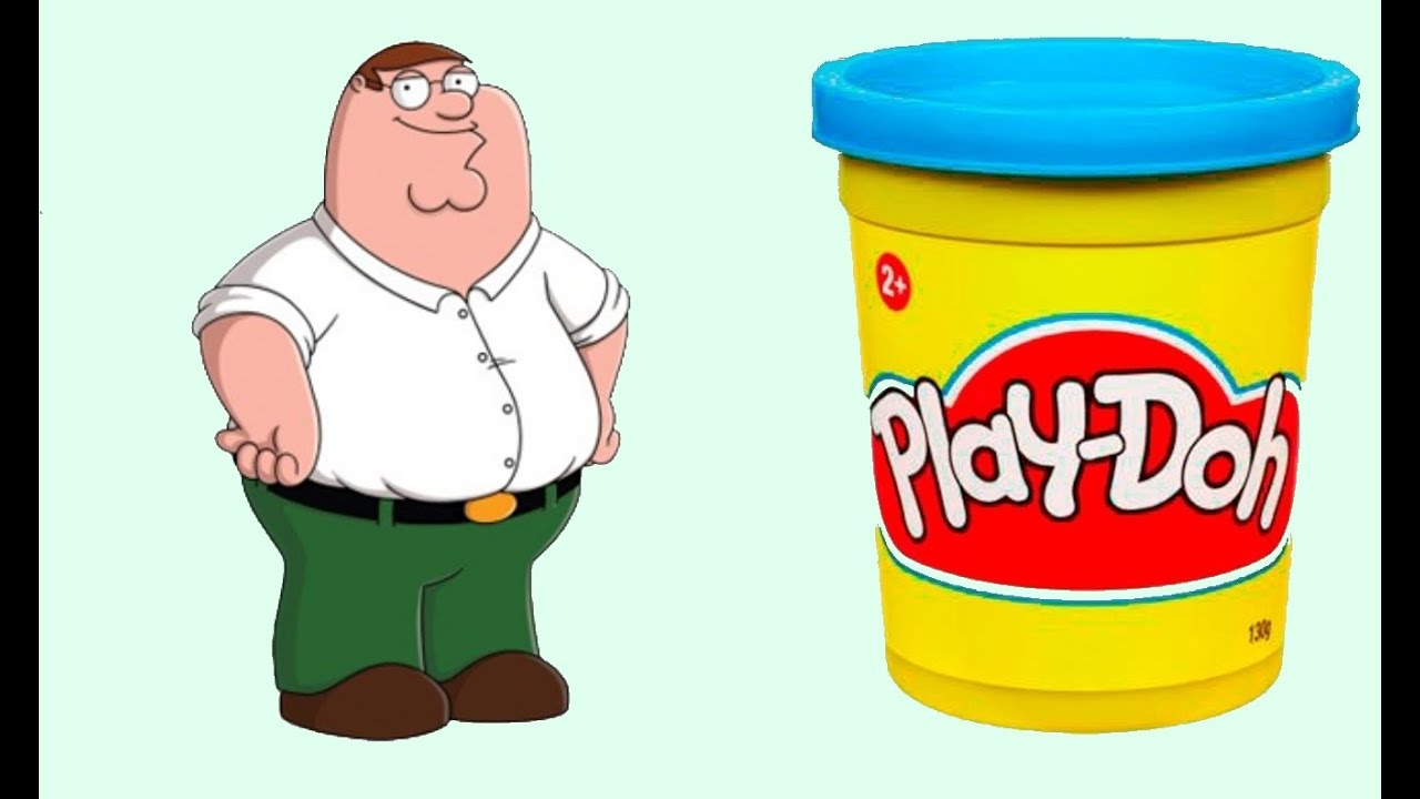 clay tutorial how to make peter griffin from family guy movies rh youtube com playdough clipart black and white playdough clipart images