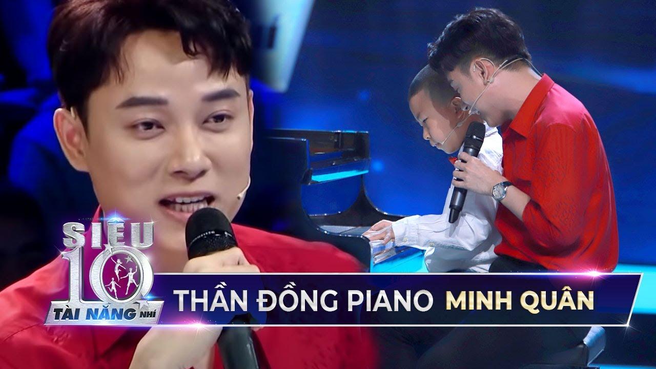 """""""Siêu nhí"""" piano Minh Quân mash-up Sáng Mắt Chưa và Thật Bất Ngờ cùng Trúc Nhân l Siêu Tài Năng Nhí"""