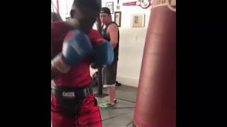 Boxing Zoe Youngster Sparring Highlights - Broward County, Florida