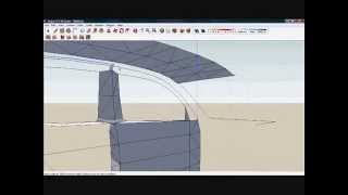 Google SketchUp: Simple Vehicle Interior Pt 1