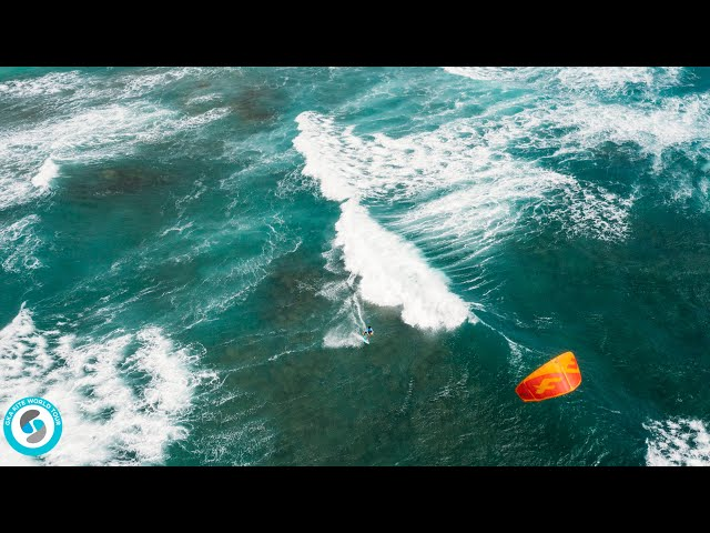 GKA Kite-Surf World Cup | Cape Verde 2020 | DAY 1 | Wave riding at Kite Beach