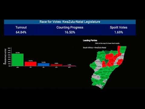 #SAVOTES2019 | KwaZulu-Natal provincial results