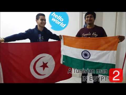 A Tunisian man in Egypt EP 2   Hello India