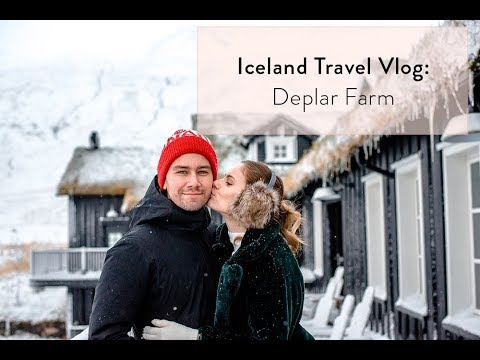 Iceland Travel Vlog: Deplar Farm