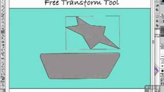 Illustrator Tutorial - The Amazing Free Transform tool
