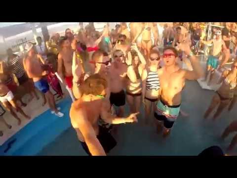 Zrce Beach 2014 - summer party in Croatia with GoPro