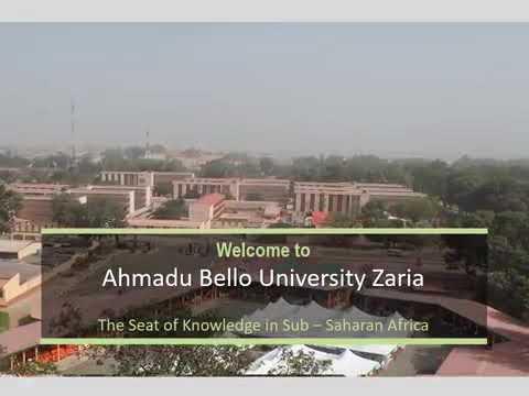 Download Documentatory of Ahmadu Bello University Zaria