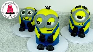 3d Buttercream Minion Cake - How To With The Icing Artist
