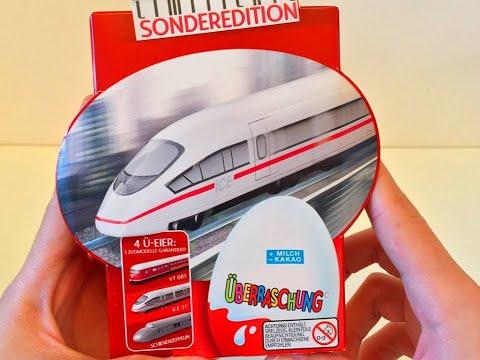 Киндер Сюрприз Поезда Эксклюзивная серия №2 ,Unboxing Kinder Surprise Trains