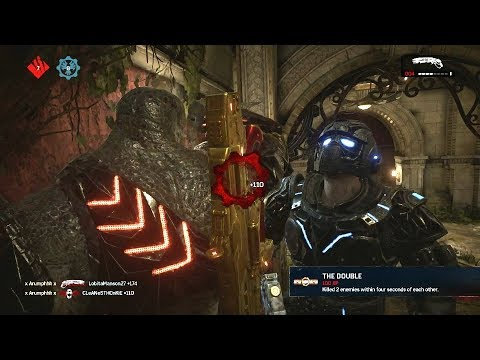 THE RETURN OF ICEMAN! (Gears of War 4) Multiplayer Gameplay With IceMaN 8o4!