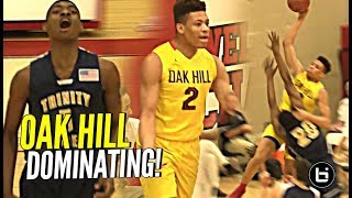 Check out highlights from Oak Hill & Kentucky commit Keldon Johnson...