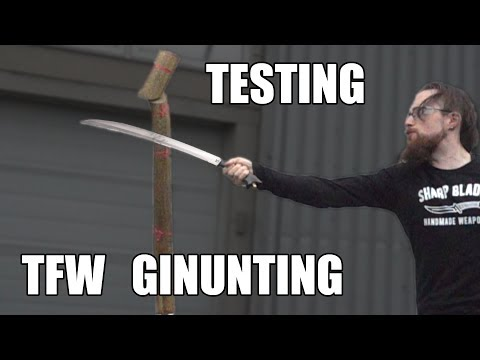 Testing The Ginunting By Traditional Filipino Weapons