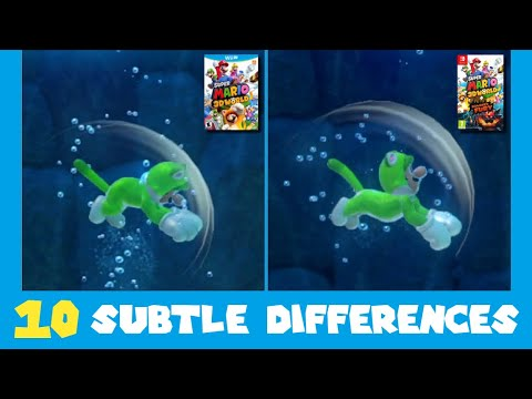 Download 10 Subtle Differences between Super Mario 3D World for Switch and Wii U (Part 2)