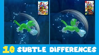 10 Subtle Differences between Super Mario 3D World for Switch and Wii U (Part 2)