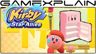 Kirby: Star Allies - NEW Friends Abilities Revealed on Official Website!