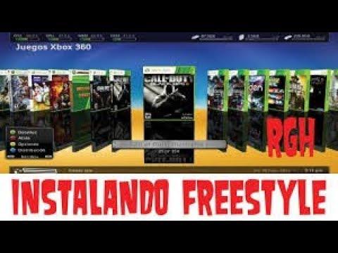 Como Instalar Y Configurar Freestyle 3 Xbox 360 Rgh 2017 2018 Youtube