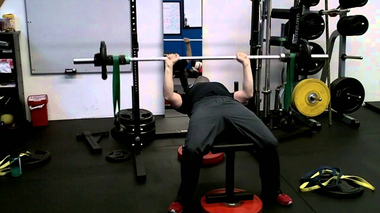 Crazy Bell Bench Press Superset Band Assisted Pull Ups Youtube