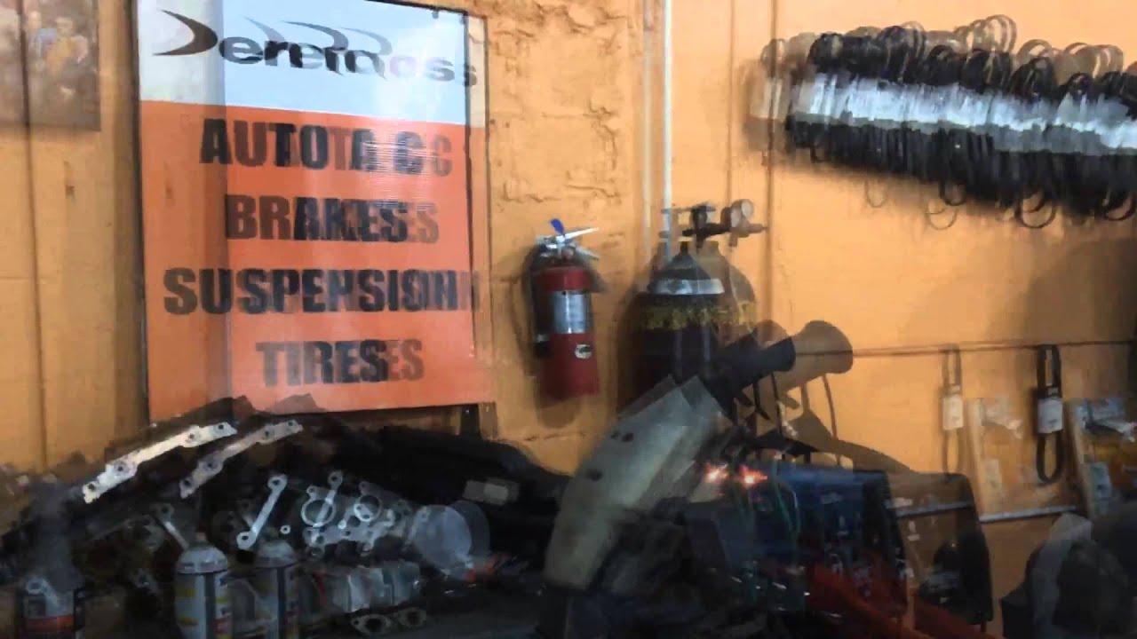 DenRod's Exhaust Welding