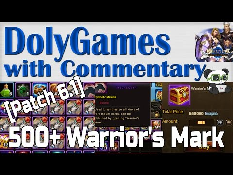 [Patch 6.1] Exchanging for 500+ Warrior's Mark!