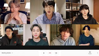 Types of students during online classes (feat. BTS & Bang PD)