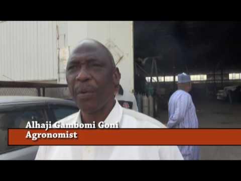 Nigeria Yobe governor visit Rainfine Irrigation